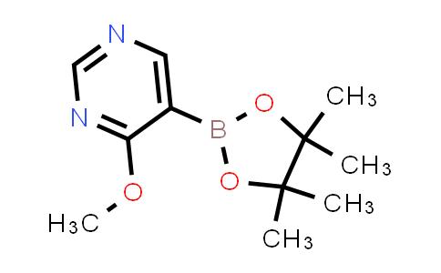 BP24235   1448869-98-4   4-methoxy-5-(4,4,5,5-tetramethyl-1,3,2-dioxaborolan-2-yl)pyrimidine