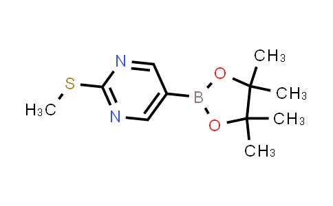 BP24238 | 940284-18-4 | 2-(methylthio)-5-(4,4,5,5-tetramethyl-1,3,2-dioxaborolan-2-yl)pyrimidine