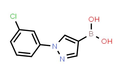 BP24245 | 1072945-88-0 | (1-(3-chlorophenyl)-1H-pyrazol-4-yl)boronic acid