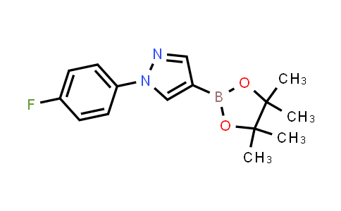 BP24246 | 1373918-57-0 | 1-(4-fluorophenyl)-4-(4,4,5,5-tetramethyl-1,3,2-dioxaborolan-2-yl)-1H-pyrazole