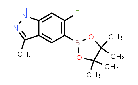 6-fluoro-3-methyl-5-(4,4,5,5-tetramethyl-1,3,2-dioxaborolan-2-yl)-1H-indazole