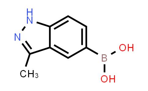 (3-methyl-1H-indazol-5-yl)boronic acid