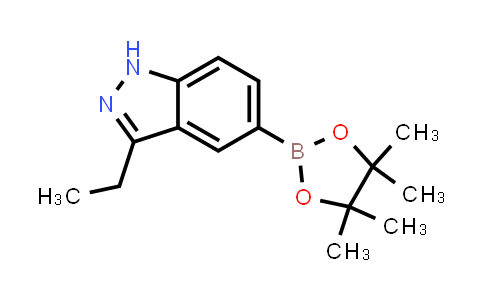3-ethyl-5-(4,4,5,5-tetramethyl-1,3,2-dioxaborolan-2-yl)-1H-indazole