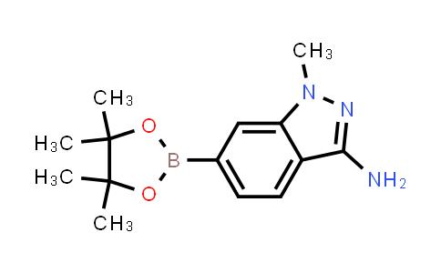 BP24281 | 1187968-53-1 | 1-methyl-6-(4,4,5,5-tetramethyl-1,3,2-dioxaborolan-2-yl)-1H-indazol-3-amine