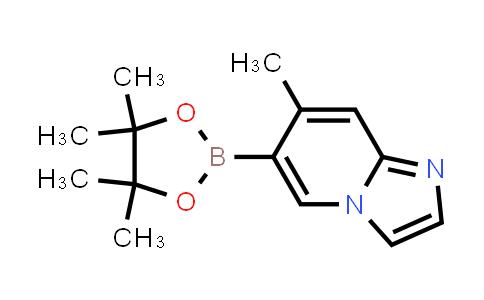 7-methyl-6-(4,4,5,5-tetramethyl-1,3,2-dioxaborolan-2-yl)imidazo[1,2-a]pyridine