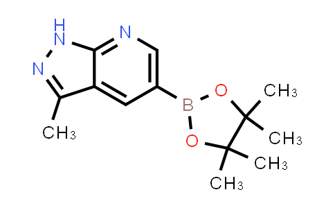 3-methyl-5-(4,4,5,5-tetramethyl-1,3,2-dioxaborolan-2-yl)-1H-pyrazolo[3,4-b]pyridine