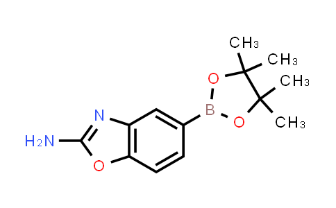 5-(4,4,5,5-tetramethyl-1,3,2-dioxaborolan-2-yl)benzo[d]oxazol-2-amine