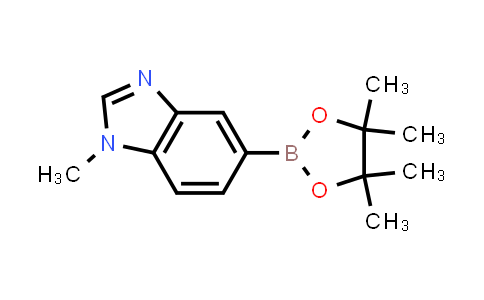 1-methyl-5-(4,4,5,5-tetramethyl-1,3,2-dioxaborolan-2-yl)-1H-benzo[d]imidazole