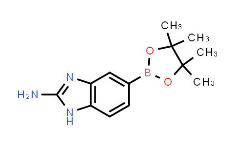 5-(4,4,5,5-tetramethyl-1,3,2-dioxaborolan-2-yl)-1H-benzo[d]imidazol-2-amine