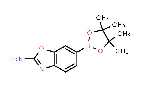 6-(4,4,5,5-tetramethyl-1,3,2-dioxaborolan-2-yl)benzo[d]oxazol-2-amine