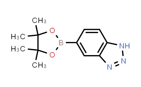 5-(4,4,5,5-tetramethyl-1,3,2-dioxaborolan-2-yl)-1H-benzo[d][1,2,3]triazole