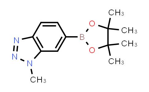 1-methyl-6-(4,4,5,5-tetramethyl-1,3,2-dioxaborolan-2-yl)-1H-benzo[d][1,2,3]triazole