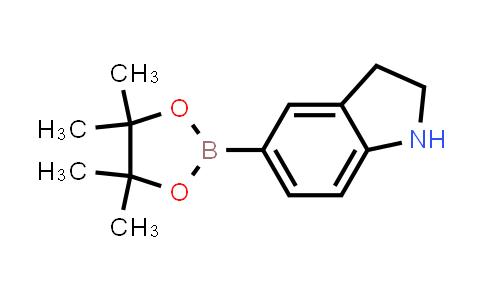 5-(4,4,5,5-tetramethyl-1,3,2-dioxaborolan-2-yl)indoline