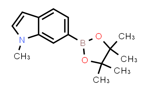 1-methyl-6-(4,4,5,5-tetramethyl-1,3,2-dioxaborolan-2-yl)-1H-indole