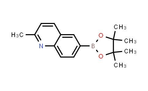 BP24302 | 1022090-86-3 | 2-methyl-6-(4,4,5,5-tetramethyl-1,3,2-dioxaborolan-2-yl)quinoline