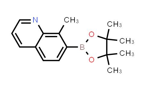 8-methyl-7-(4,4,5,5-tetramethyl-1,3,2-dioxaborolan-2-yl)quinoline
