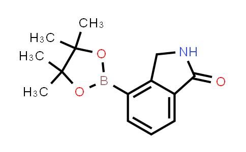 4-(4,4,5,5-tetramethyl-1,3,2-dioxaborolan-2-yl)isoindolin-1-one