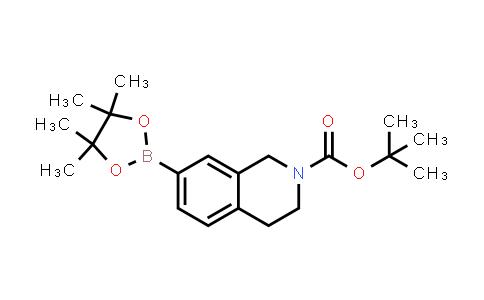 tert-butyl 7-(4,4,5,5-tetramethyl-1,3,2-dioxaborolan-2-yl)-3,4-dihydroisoquinoline-2(1H)-carboxylate
