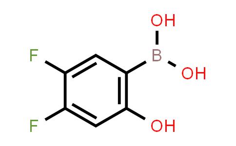 (4,5-difluoro-2-hydroxyphenyl)boronic acid