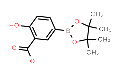 2-hydroxy-5-(4,4,5,5-tetramethyl-1,3,2-dioxaborolan-2-yl)benzoic acid