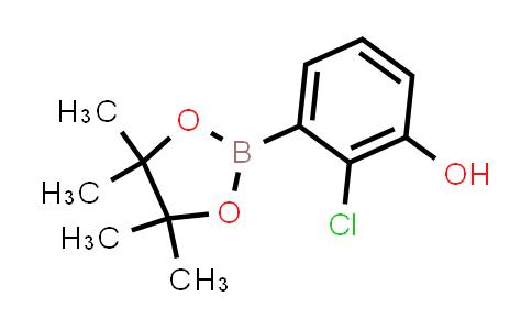 BP24322 | 1151564-17-8 | 2-chloro-3-(4,4,5,5-tetramethyl-1,3,2-dioxaborolan-2-yl)phenol