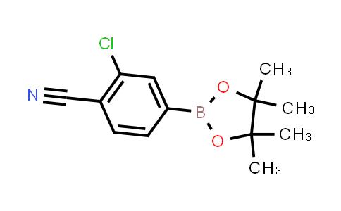 BP24324 | 548797-51-9 | 2-chloro-4-(4,4,5,5-tetramethyl-1,3,2-dioxaborolan-2-yl)benzonitrile
