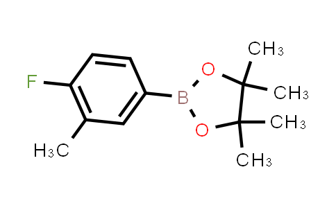 2-(4-fluoro-3-methylphenyl)-4,4,5,5-tetramethyl-1,3,2-dioxaborolane