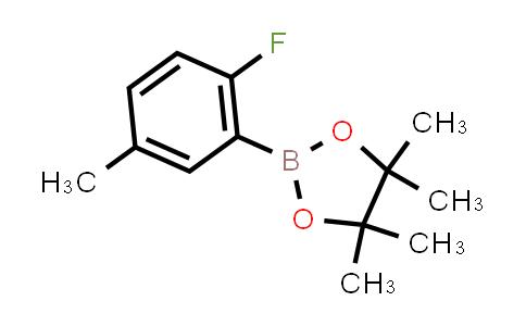 2-(2-fluoro-5-methylphenyl)-4,4,5,5-tetramethyl-1,3,2-dioxaborolane