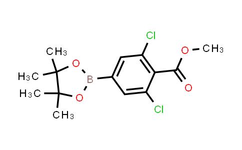 BP24336   1321613-04-0   methyl 2,6-dichloro-4-(4,4,5,5-tetramethyl-1,3,2-dioxaborolan-2-yl)benzoate