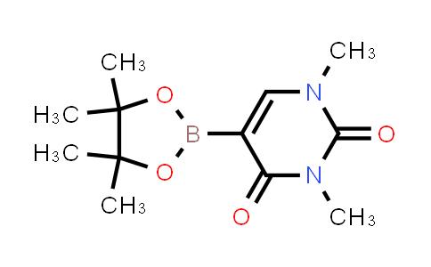 1,3-dimethyl-5-(4,4,5,5-tetramethyl-1,3,2-dioxaborolan-2-yl)pyrimidine-2,4(1H,3H)-dione