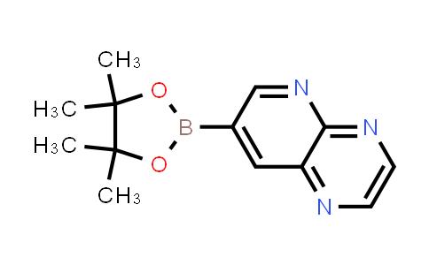 7-(4,4,5,5-tetramethyl-1,3,2-dioxaborolan-2-yl)pyrido[2,3-b]pyrazine