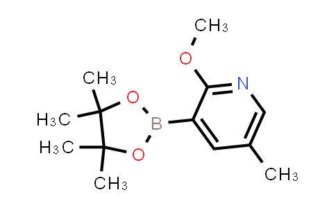 2-methoxy-5-methyl-3-(4,4,5,5-tetramethyl-1,3,2-dioxaborolan-2-yl)pyridine