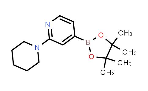 BP24354 | 1402166-06-6 | 2-(piperidin-1-yl)-4-(4,4,5,5-tetramethyl-1,3,2-dioxaborolan-2-yl)pyridine