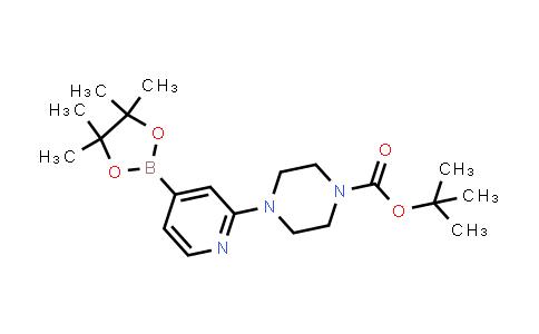 BP24362 | 936250-21-4 | tert-butyl 4-(4-(4,4,5,5-tetramethyl-1,3,2-dioxaborolan-2-yl)pyridin-2-yl)piperazine-1-carboxylate