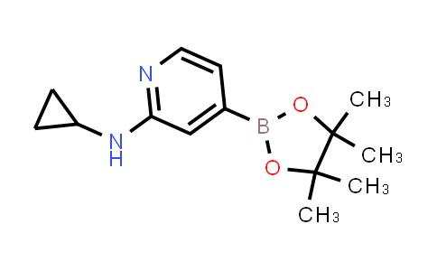 N-cyclopropyl-4-(4,4,5,5-tetramethyl-1,3,2-dioxaborolan-2-yl)pyridin-2-amine
