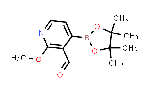 2-methoxy-4-(4,4,5,5-tetramethyl-1,3,2-dioxaborolan-2-yl)nicotinaldehyde