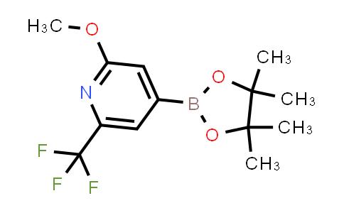 BP24368 | 1150561-66-2 | 2-methoxy-4-(4,4,5,5-tetramethyl-1,3,2-dioxaborolan-2-yl)-6-(trifluoromethyl)pyridine