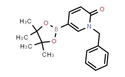 BP24372 | 870067-55-3 | 1-benzyl-5-(4,4,5,5-tetramethyl-1,3,2-dioxaborolan-2-yl)pyridin-2(1H)-one