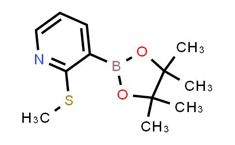 BP24376 | 1073354-78-5 | 2-(methylthio)-3-(4,4,5,5-tetramethyl-1,3,2-dioxaborolan-2-yl)pyridine