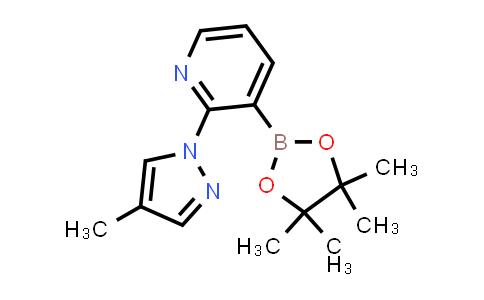BP24378 | 1353887-57-6 | 2-(4-methyl-1H-pyrazol-1-yl)-3-(4,4,5,5-tetramethyl-1,3,2-dioxaborolan-2-yl)pyridine