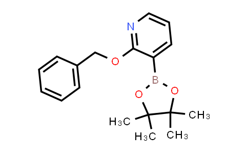 2-(benzyloxy)-3-(4,4,5,5-tetramethyl-1,3,2-dioxaborolan-2-yl)pyridine