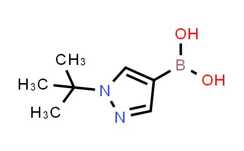 (1-(tert-butyl)-1H-pyrazol-4-yl)boronic acid