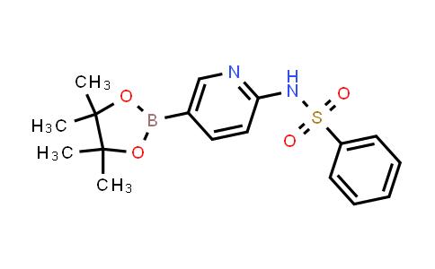 BP24391   1416338-07-2   N-(5-(4,4,5,5-tetramethyl-1,3,2-dioxaborolan-2-yl)pyridin-2-yl)benzenesulfonamide
