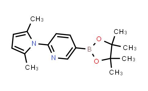 BP24392 | 885226-07-3 | 2-(2,5-dimethyl-1H-pyrrol-1-yl)-5-(4,4,5,5-tetramethyl-1,3,2-dioxaborolan-2-yl)pyridine