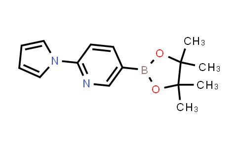 2-(1H-pyrrol-1-yl)-5-(4,4,5,5-tetramethyl-1,3,2-dioxaborolan-2-yl)pyridine