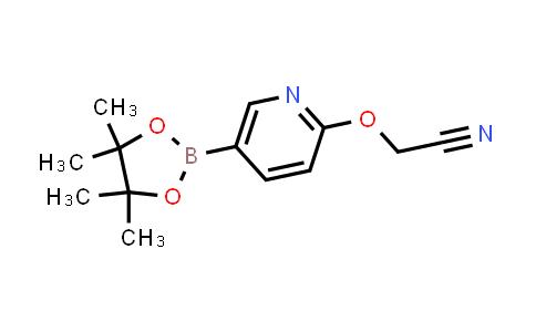 BP24402 | 1353879-84-1 | 2-((5-(4,4,5,5-tetramethyl-1,3,2-dioxaborolan-2-yl)pyridin-2-yl)oxy)acetonitrile