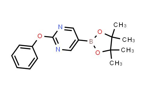 2-phenoxy-5-(4,4,5,5-tetramethyl-1,3,2-dioxaborolan-2-yl)pyrimidine