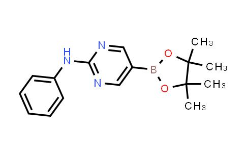N-phenyl-5-(4,4,5,5-tetramethyl-1,3,2-dioxaborolan-2-yl)pyrimidin-2-amine