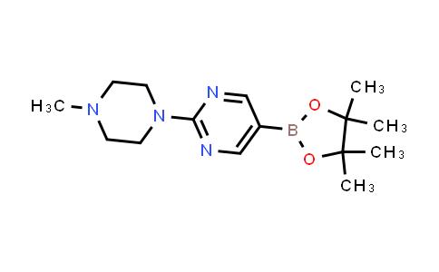 BP24411 | 942922-07-8 | 2-(4-methylpiperazin-1-yl)-5-(4,4,5,5-tetramethyl-1,3,2-dioxaborolan-2-yl)pyrimidine