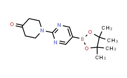BP24413 | 1202805-27-3 | 1-(5-(4,4,5,5-tetramethyl-1,3,2-dioxaborolan-2-yl)pyrimidin-2-yl)piperidin-4-one